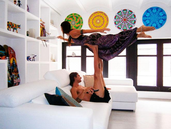 Yoga para volar