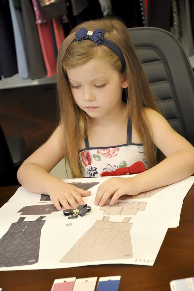 Duda Bündchen: una diseñadora de 5 años tras los pasos de su tía Gisele