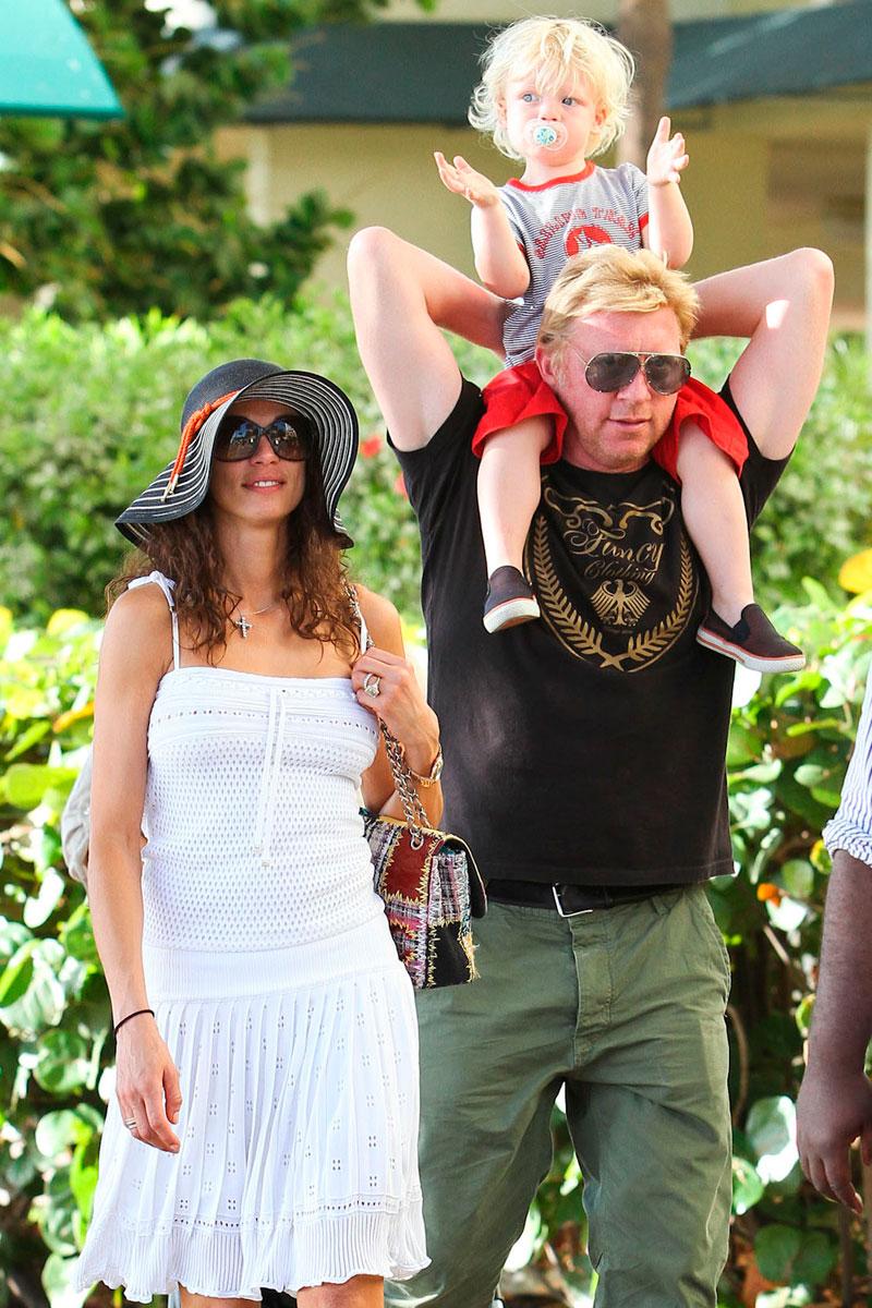 Mientras trabajas: algunas celebrities parecen vivir de eternas vacaciones