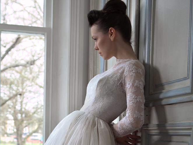 Casarse con un vestido antiguo