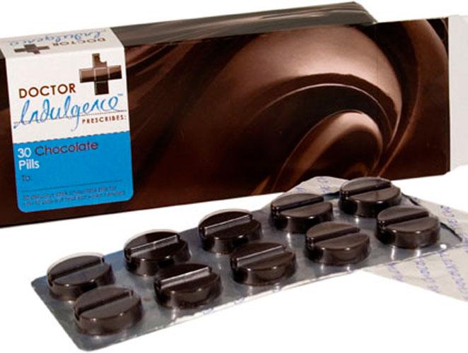 píldoras chocolate