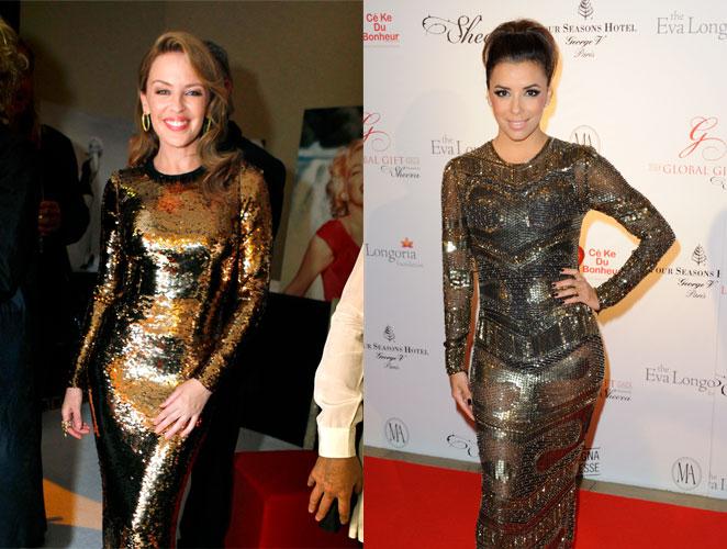 Kylie Minogue Eva Longoria