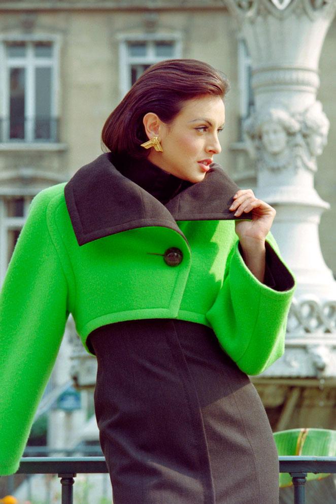 Modelo Chanel vintage
