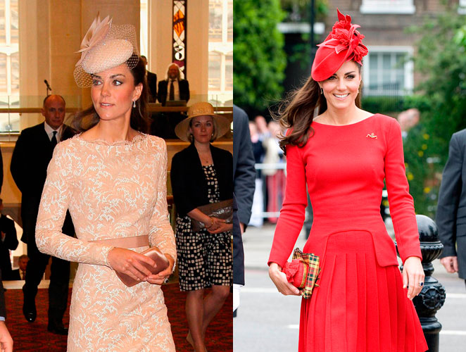 Los McQueen de Kate Middleton