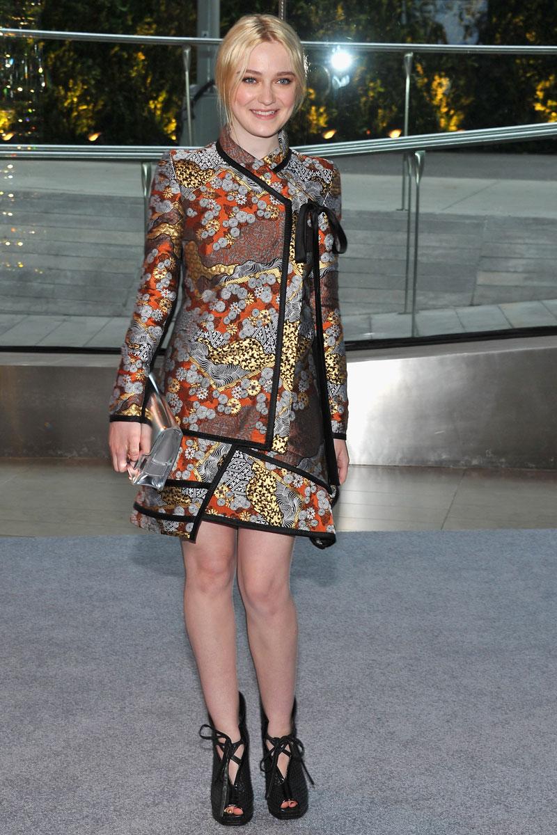 Dakota Fanning CFDA Fashion Awards