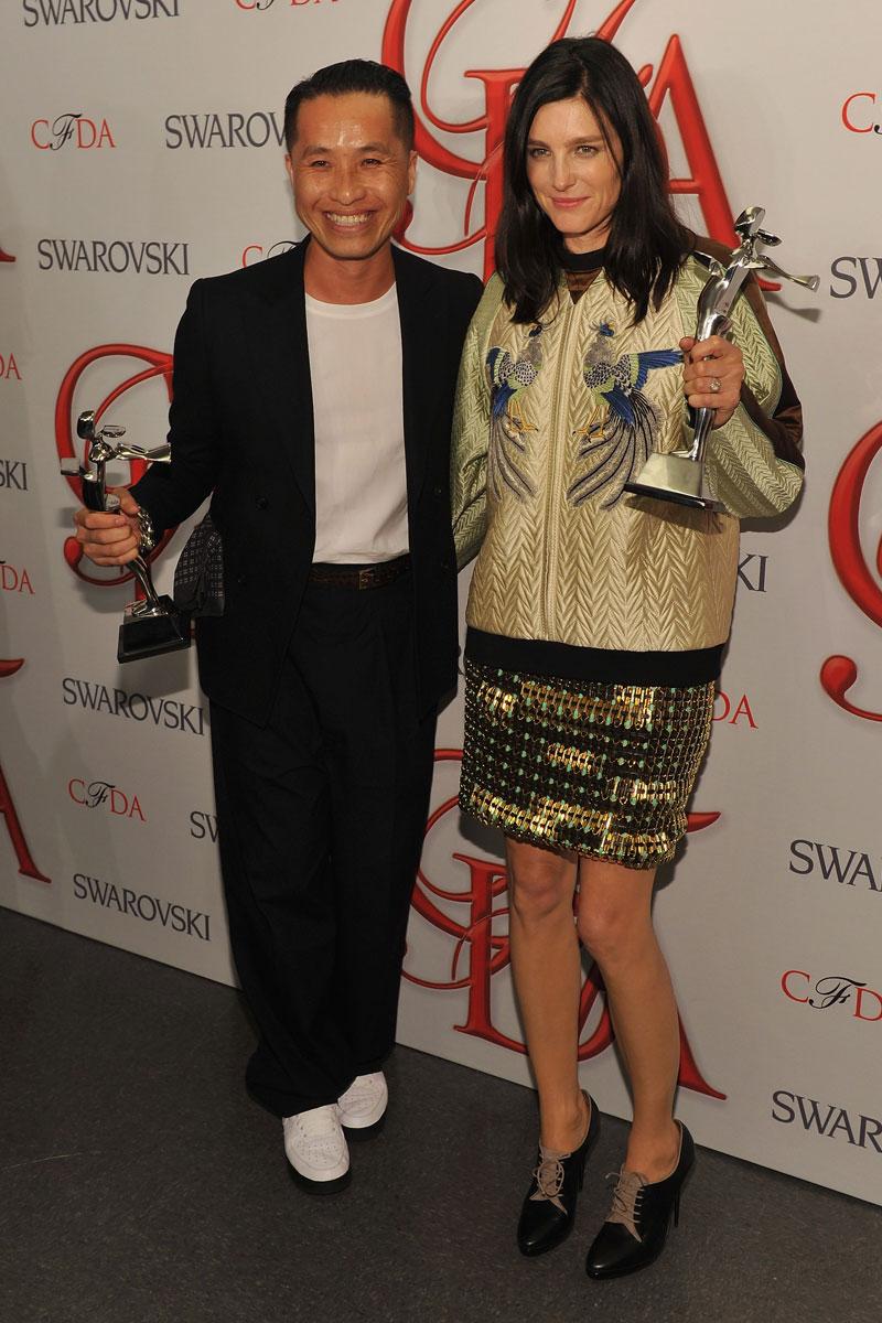 Philip Lim Tabitha Simmons CFDA Fashion Awards
