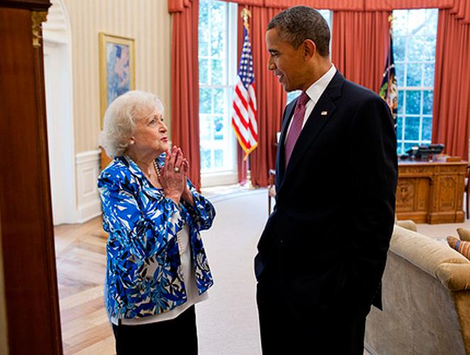 Betty y Obama