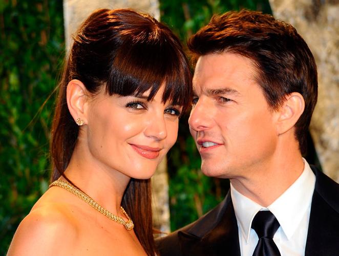 Katie Holmes y Tom Cruise