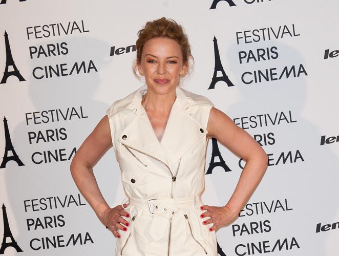 Vota el look: Kylie Minogue en el Festival de Cine de París