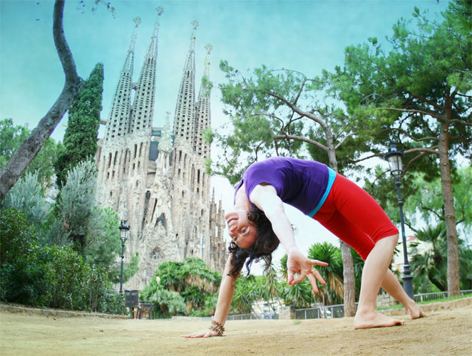 'La crisis es una bendición para el yoga'