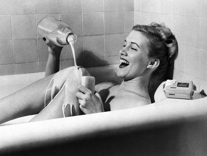Baño de leche