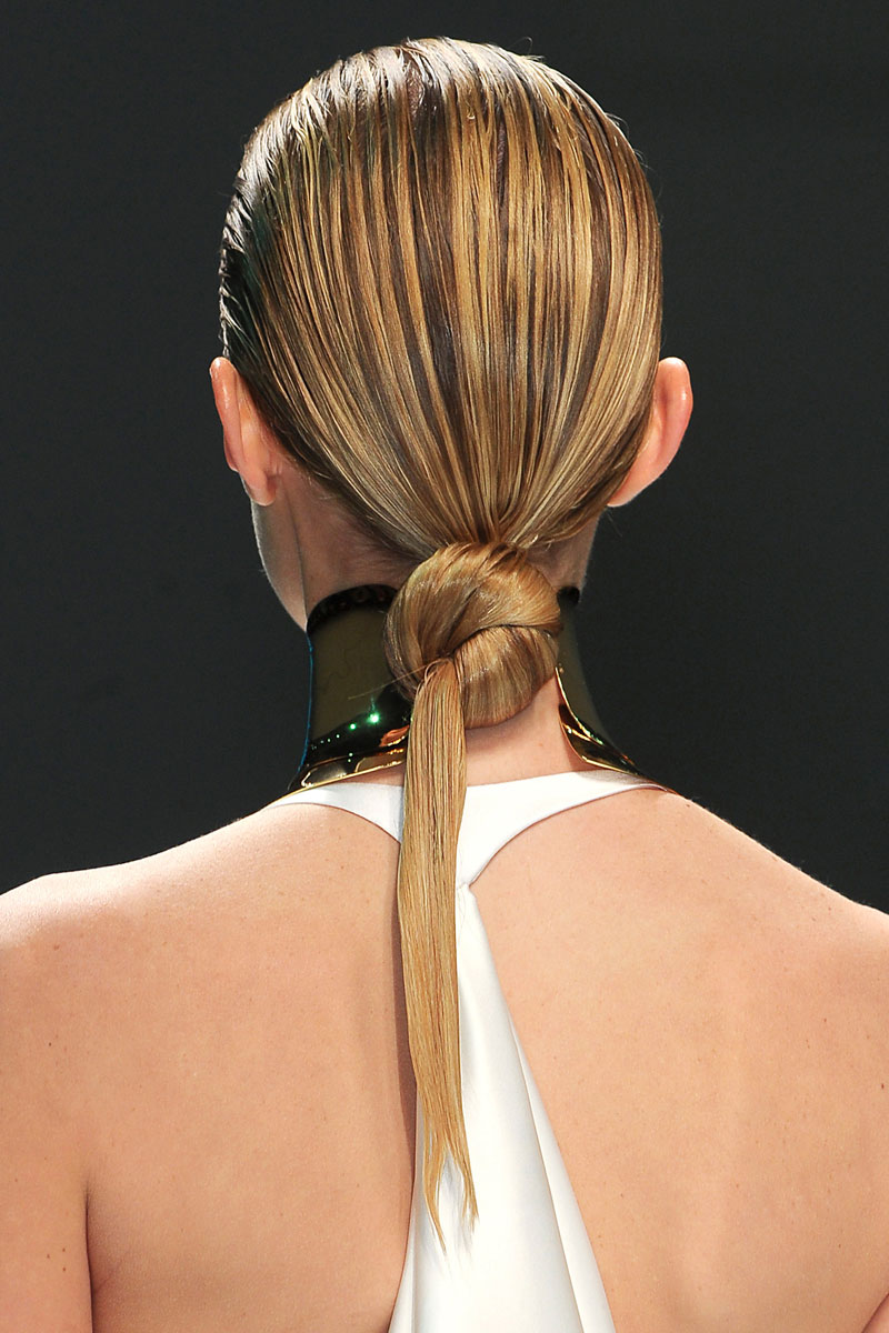 nueve maneras de llevar el pelo mojado