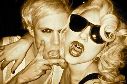 Lady Gaga grill