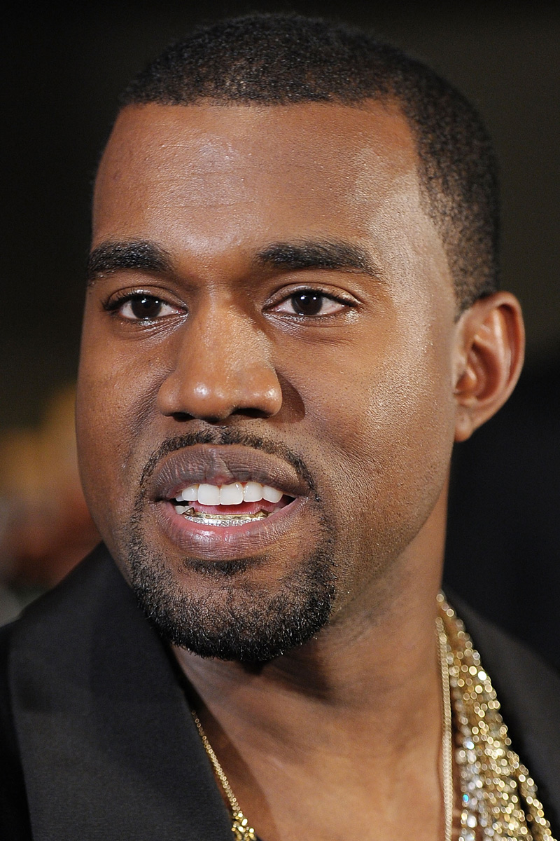 Kanye West grill