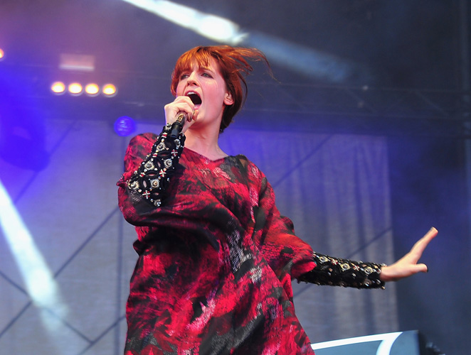Florence Welch Lollapalooza