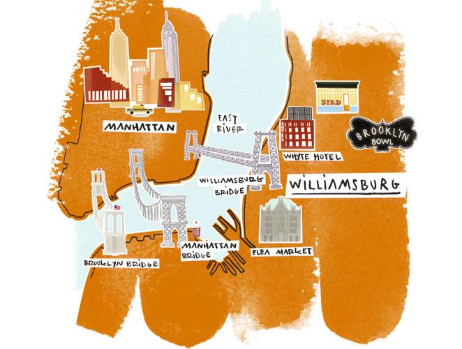 Mapa Brooklyn