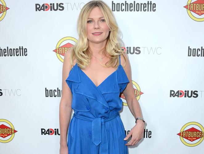 Vota el look: el vestido azulón de Kirsten Dunst