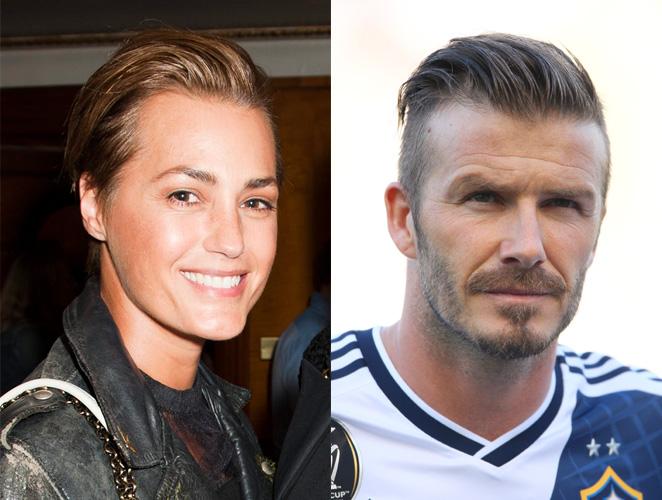 Yasmin Le Bon David Beckham
