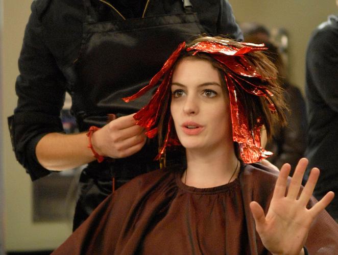 Anne Hathaway peluquería