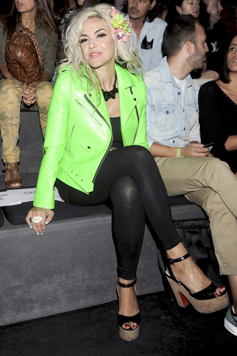 El front row de Mercedes-Benz Fashion Week en fotos