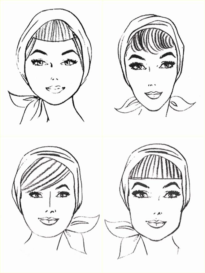 Flequillo ilustraciones