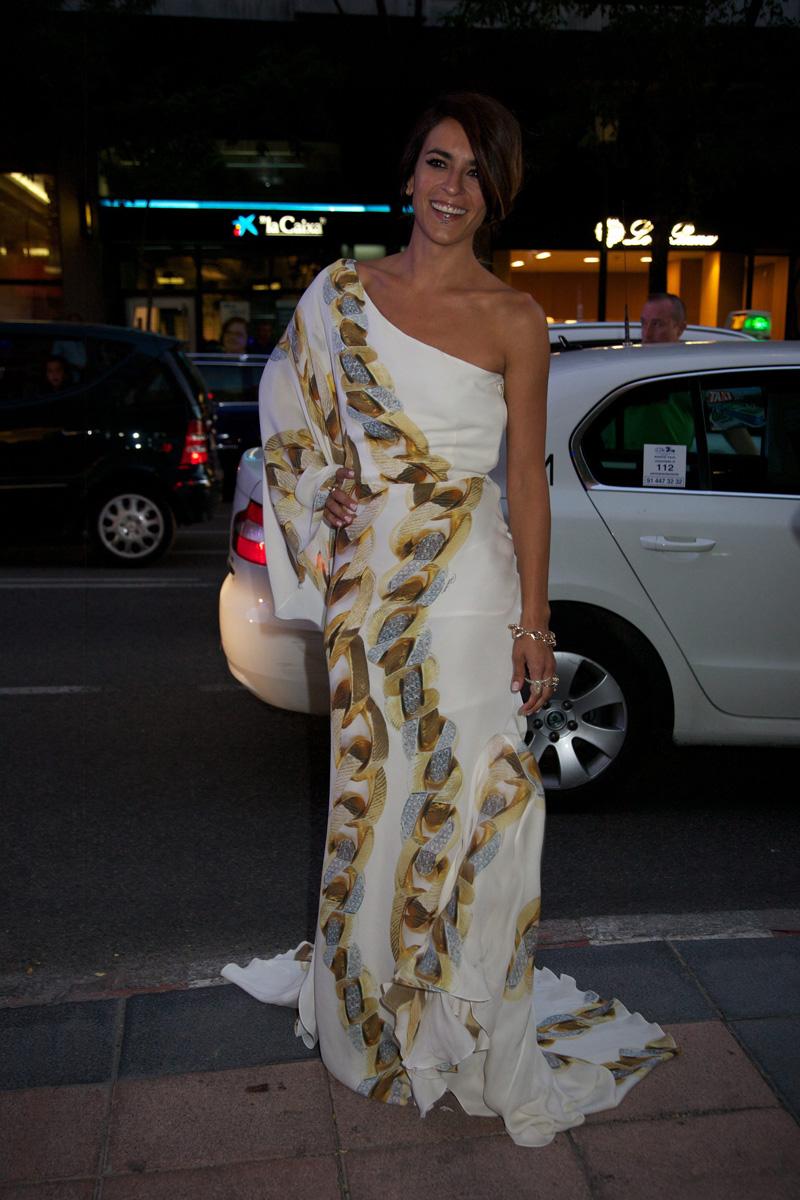Mientras dormías: Roberto Cavalli llenó el centro Madrid de vestidos de fiesta