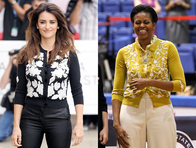 Penélope Cruz Michelle Obama