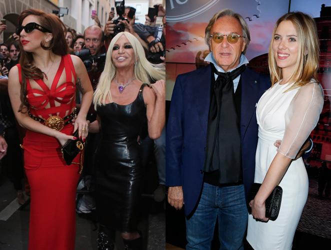Scarlett Johansson Lady Gaga