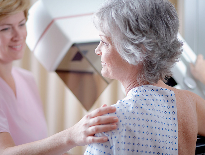Sin miedo a la mamografía