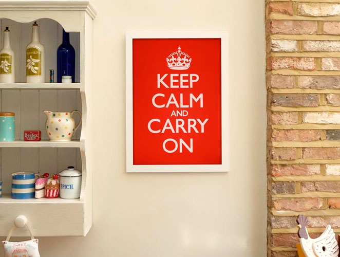 cover keep calm and carry on