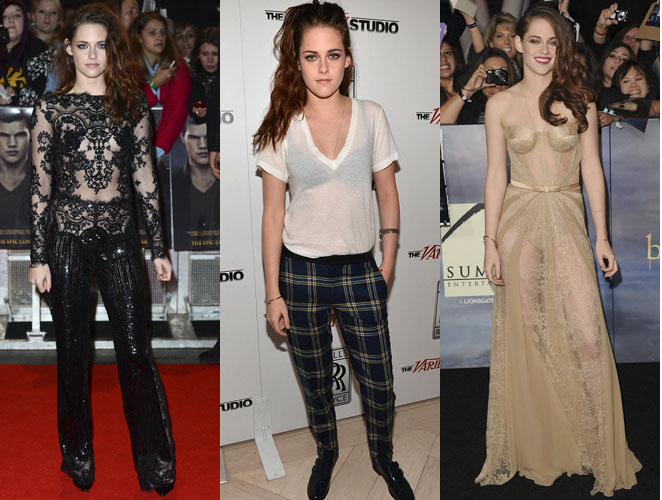 La obsesión de Kristen Stewart por enseñar más que la ropa interior…