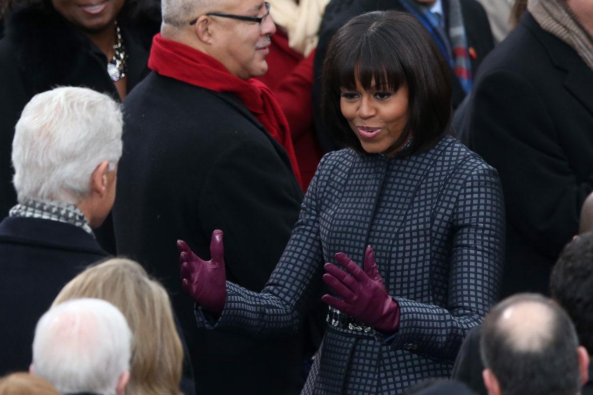 todos los looks de la toma de posesión de Obama