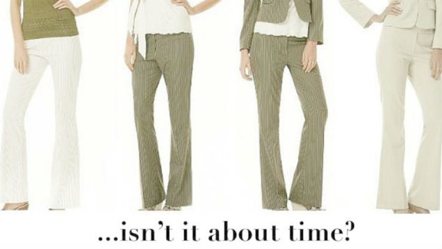 mormonas pantalones