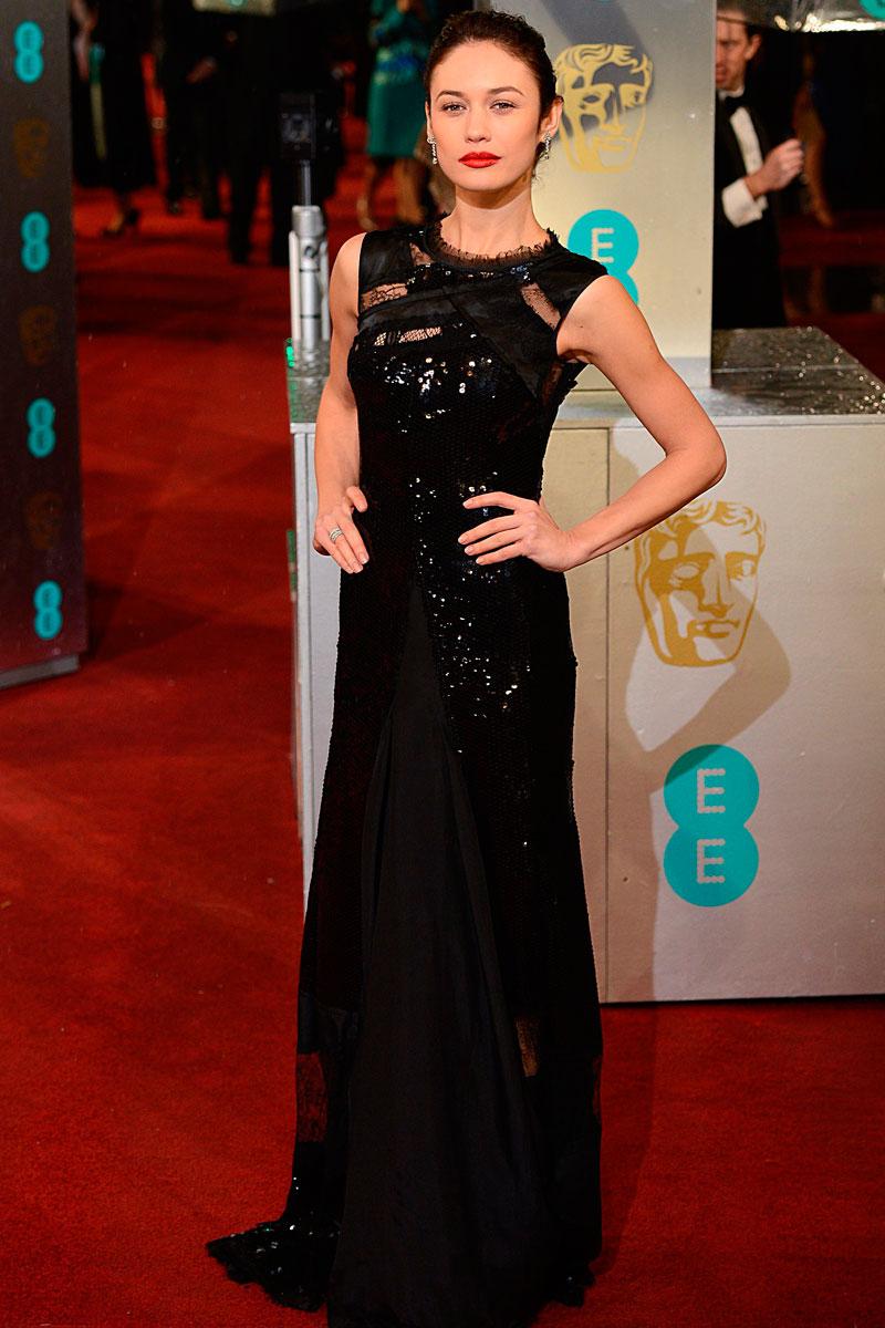 todos los vestidos de los BAFTA 2013