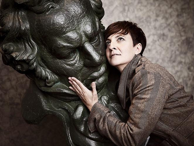 Eva Hache en los Goya