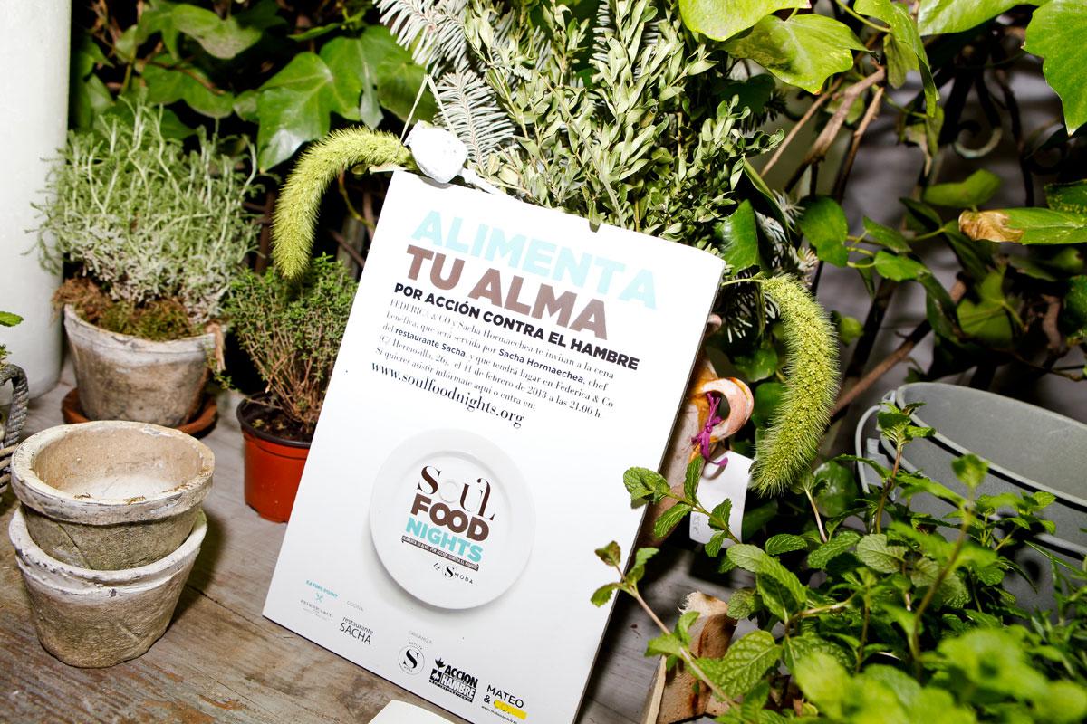 S Moda y Acción contra el hambre celebran Soul Food Night