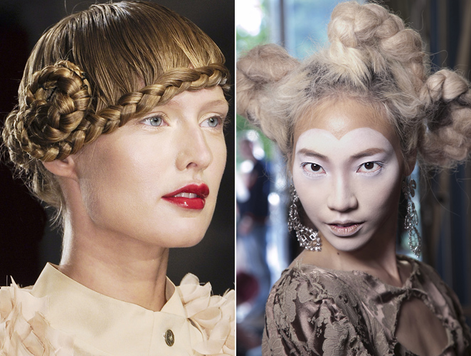Los 20 Peinados Mas Atrevidos Vistos En Las Pasarelas Moda - Fotos-peinados-de-moda