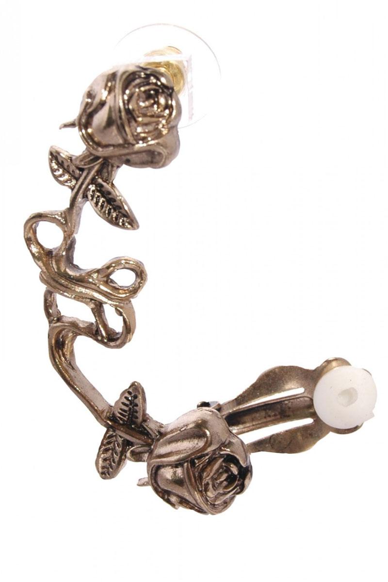 Orejas metalizadas es la era de los ear cuff