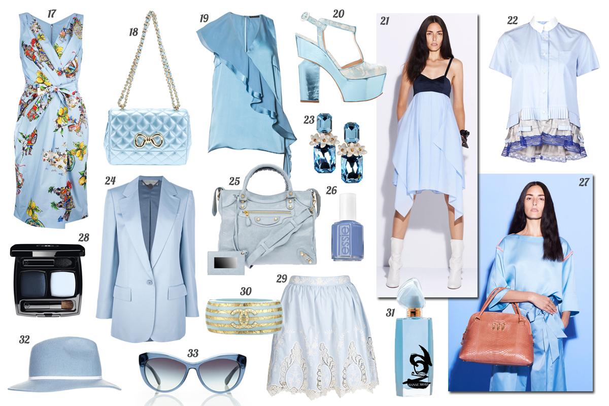d4d2b1b5ee2 Shopping - El lado  soft  de la primavera  la invasión del azul bebé