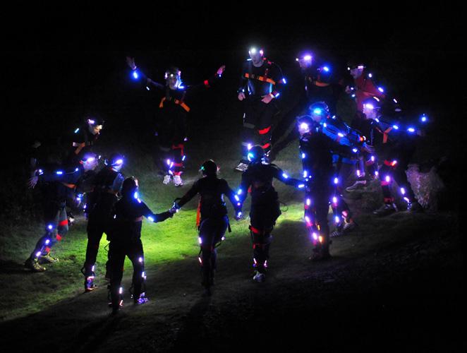 Las ventajas de vivir (y correr) de noche