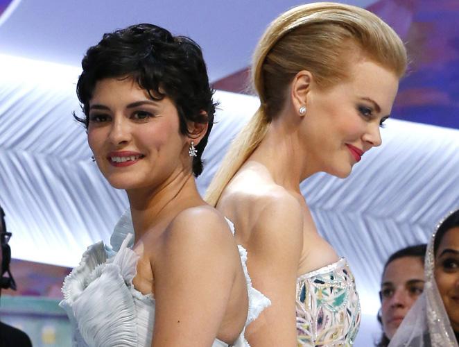 Duelo de Alta Costura francesa entre las dos damas de Cannes