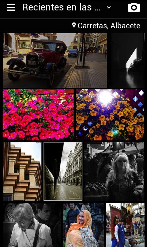 Flickr detecta las fotos que se hacen a tu alrededor.