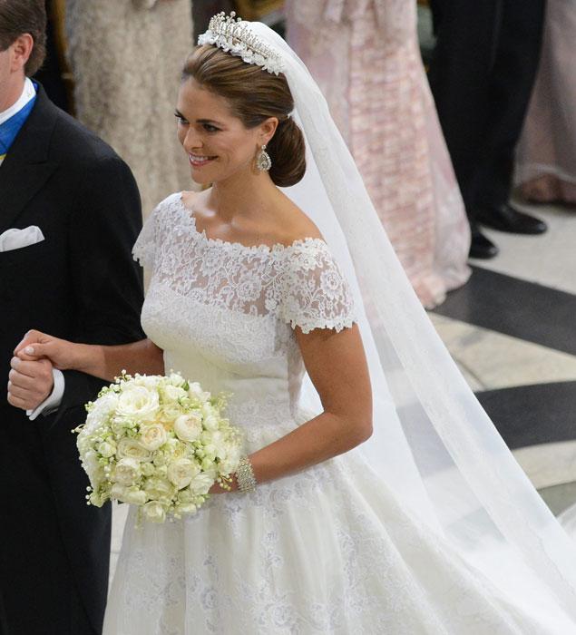 al detalle: el vestido de novia de valentino de magdalena de suecia