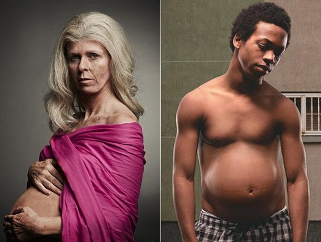 Ancianas y chicos embarazados: la publicidad enciende la polémica