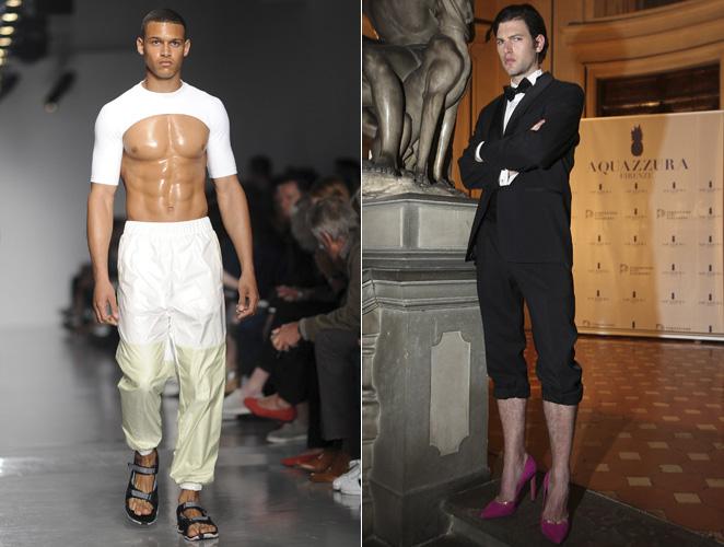 La obsesión de la moda con 'feminizar' al hombre