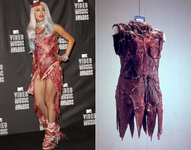 Vestido carne