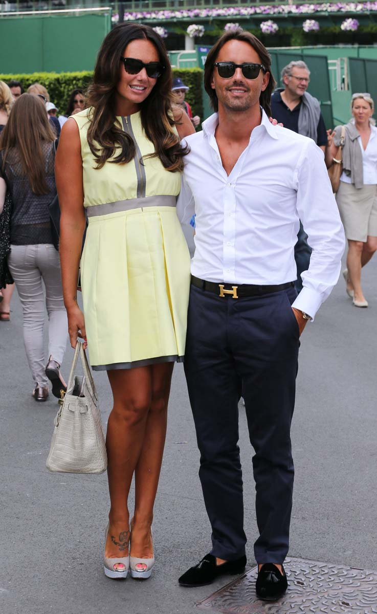 El Front Row de Wimbledon