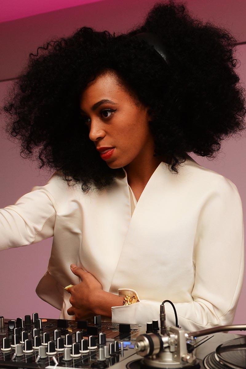Los 1001 peinados de Solange Knowles