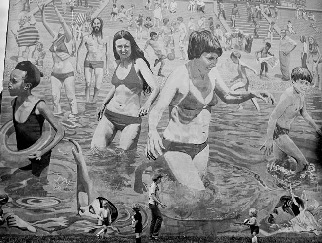 Mural playa