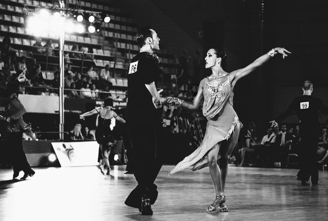 el baile deportivo desfila
